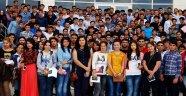 AKSARAY ÜNİVERSİTESİ'NDE 24 ÜLKEDEN 480 ULUSLARARASI ÖĞRENCİ VAR