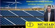 AKSARAY'DA GÜNEŞ ENERJİSİNE YATIRIM YAPANA 2,5 MİLYON TL