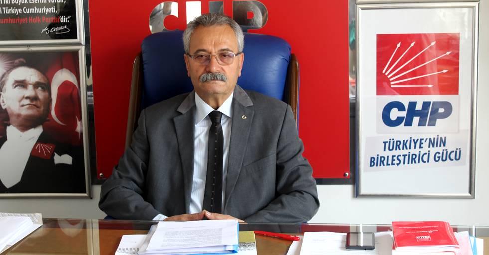 CHP İL BAŞKANI TOPRAK ''14 YILDA HER ŞEYİ SATTINIZ''